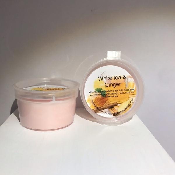 Waxmelt White tea & Ginger